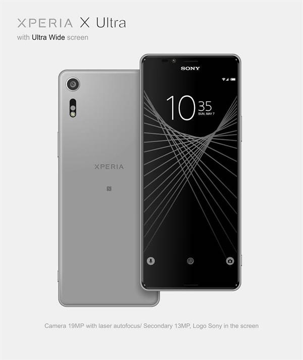 เผยภาพ Sony Xperia X Ultra ก่อนเปิดตัวอย่างเป็นทางการ