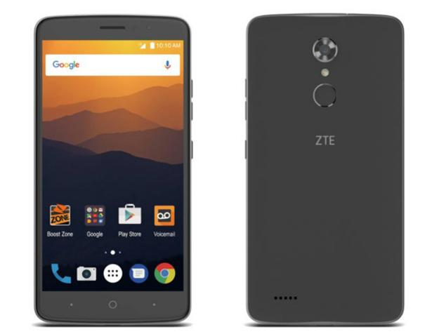 ZTE เปิดตัว ZTE Max XL สมาร์ทโฟนหน้าจอใหญ่ กล้องหลังความละเอียด 13 ล้านพิกเซล ในราคาสบายการะเป๋าที่ไม่ถึง 5 พัน