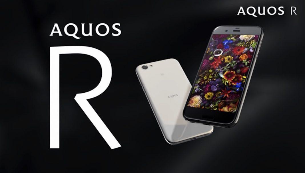 Sharp เปิดตัว  Sharp Aquos R สมาร์ทโฟนไฮเอนด์รุ่นล่าสุดที่ชูจุดเด่นที่หน้าจอ IGZO ขนาด 5.3 นิ้ว ความละเอียด QHD, RAM 4 GB ,กล้องหลัง 22.6 ล้านพิกเซล