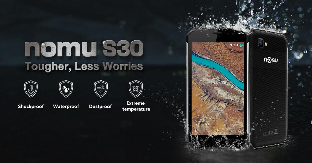 Nomu S30 แบรน์สมาร์ทโฟนจากจีนที่มาพร้อมฟีเจอร์กันน้ำกันฝุ่น สุดแกร่งปั่นในเครื่องซักผ้ายังได้!