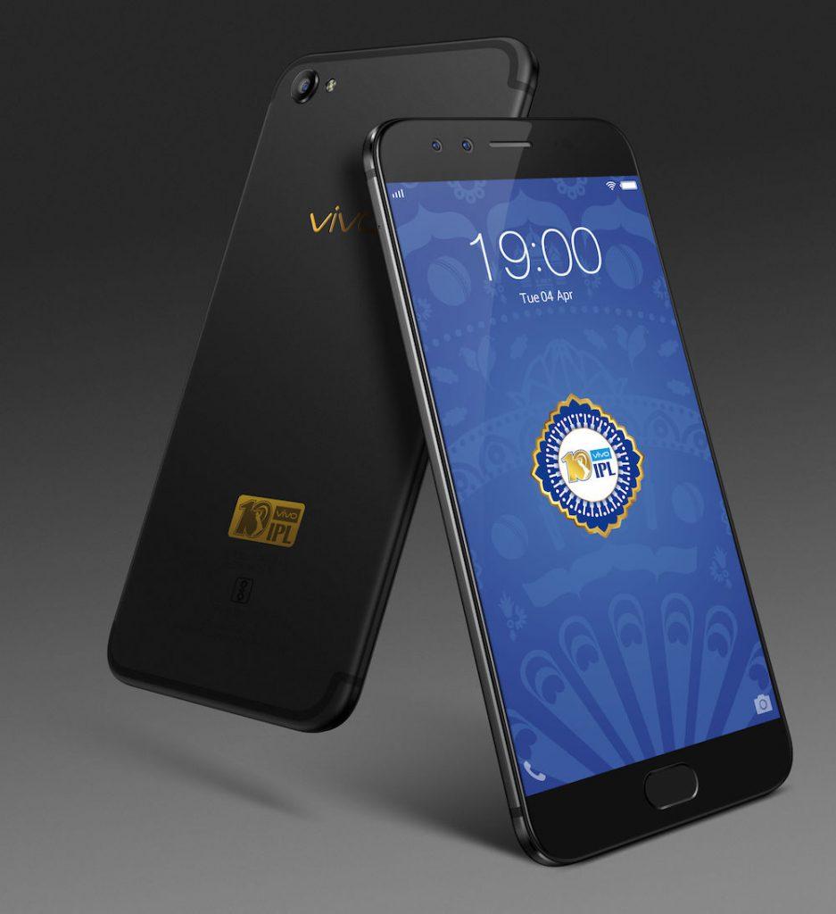 Vivo เปิดตัว Vivo V5 Plus IPL Limited Editon รุ่นพิเศษ มาพร้อมตัวเครื่องสีดำสวยโดดเด่นด้วยโลโก้สีทองสะดุดตา