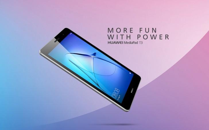 Huawei เปิดตัว Huawei MediaPad T3 แท็บเล็ตรุ่นใหม่ที่มาพร้อมสเปคระดับกลางในราคาย่อมเยาว์ เริ่มต้นเพียง 4,xxx บาท