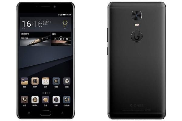 เปิดตัว Gionee M6S Plus สมาร์ทโฟนสเปคแรงหน้าจอ 6 นิ้ว แรม 6GB แบตเตอรี่ความจุ 6,020mAh