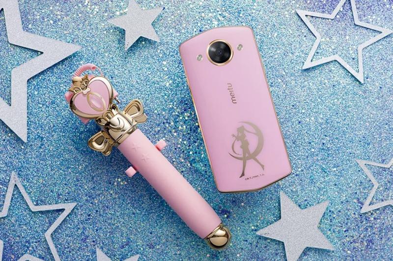 Meitu เปิดตัว สมาร์ทโฟน Sailor Moon หน้าจอ 5.2 นิ้ว กล้องหลัง 21MP พร้อมไม้เซลฟี่ฟุ้งฟิ้ง