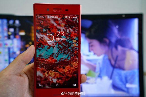 อย่างแจ่ม! เว็บนอกปล่อยภาพหลุด Sony Xperia XZ Premium สีแดงสด
