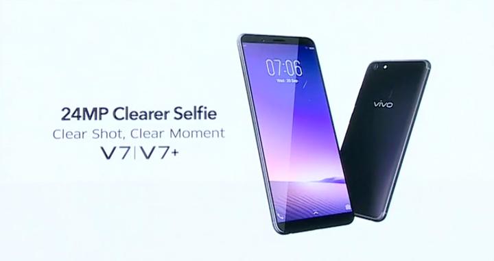 เปิดตัว Vivo V7+สมาร์ทโฟนรุ่นแรกของค่ายที่มาพร้อมหน้าจอไร้ขอบ พร้อมล้องหน้าสำหรับถ่ายเซลฟี่ ความละเอียดสูงถึง 24 ล้านพิกเซล, แรม 4GB, ราคาหมื่นต้นๆ