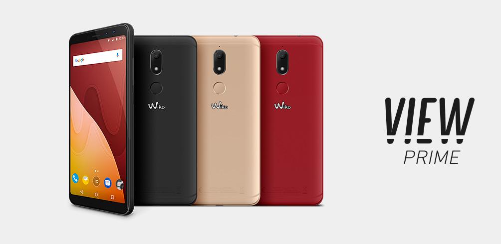 Wiko View Prime สมาร์ทโฟนรุ่นใหม่ หน้าจอใหญ่ 5.7 นิ้ว พร้อมกล้องหน้าคู่ 20+8 ล้านพิกเซล แรม 4GB ในราคา 7 พันนิดๆ