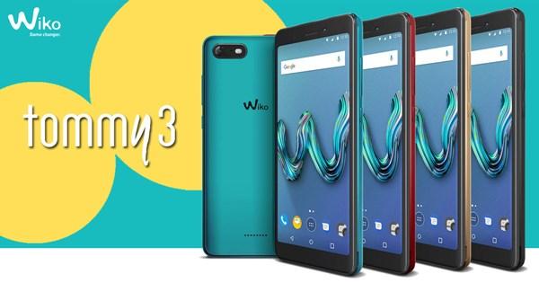 Wiko TOMMY 3 สมาร์ทโฟนรุ่นล่าสุด มาพร้อมการใช้งานครบครัน หน้าจอใหญ่ กล้องสวย ราคาเบาๆ