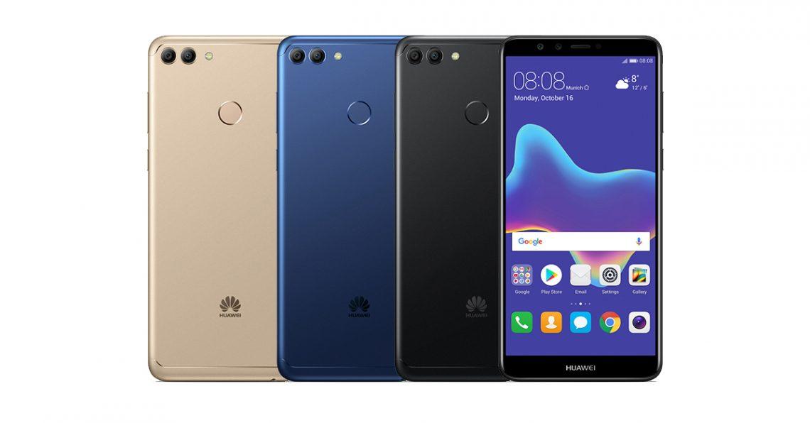 เปิดตัว Huawei Y9 (2018) สมาร์ทโฟนสเปคจัดเต็มกล้อง 4 ตัว ในราคาเพียง  6,990 บาท