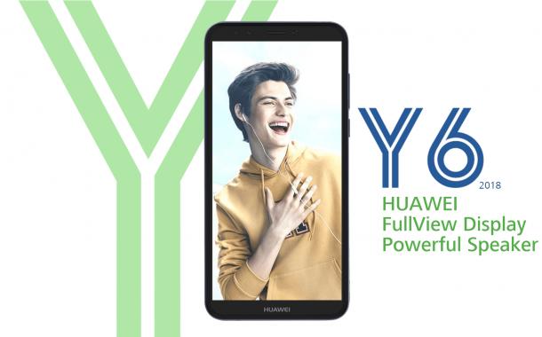 Huawei เปิดตัว Y6 (2018) สมาร์ทโฟนราคาประหยัดหน้าจอ 5.7 นิ้ว กล้องหลัง 13 ล้าน ราคาเปิดตัว 4,xxx บาท