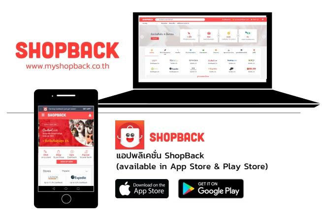 นักช้อปออนไลน์ต้องรู้ รีวิว ShopBack ยิ่งช้อปยิ่งได้เงินคืน