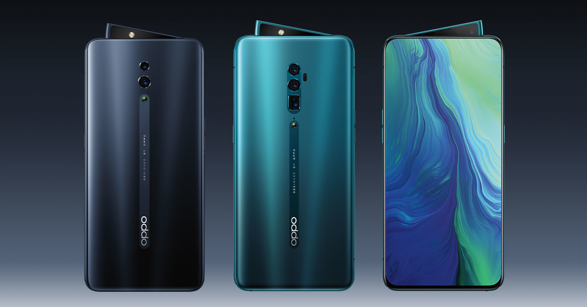 OPPO Reno 10x zoom สมาร์ทโฟนดีไซน์หรู ชูจุดเด่น กล้องซูมไกลถึง 10เท่า!