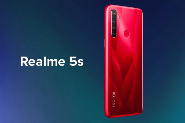 เปิดตัวสมาร์ทโฟนระดับกลางรุ่นอัพเกรด Realme 5s พร้อมกล้องหลัก เซนเซอร์ Samsung GM1 ความละเอียด 48 ล้านพิกเซล